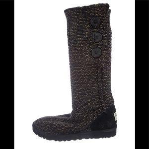 Women Black Ugg Mid Calf Boots on Poshmark